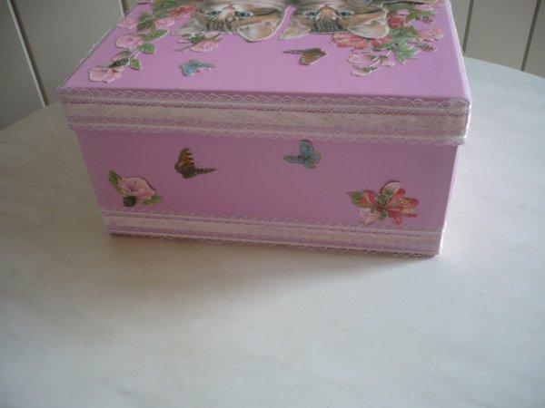 customiser une boite en carton les p 39 tites mains bricoleuses