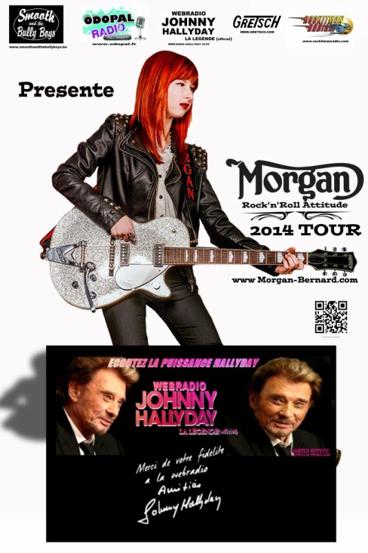 MORGAN BERNARD TOUR 2014 (Rock n'Roll Attitude) MBB