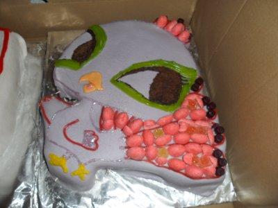 Gateau d anniversaire de ma fille de 10 ans par une amie ma grande tribu a moi - Gateau anniversaire fille 10 ans ...