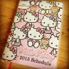 Agenda Sanrio Hello Kitty 2015