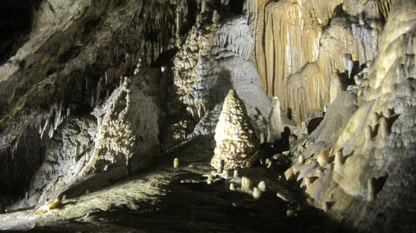 Visite aux grottes de Han (2)