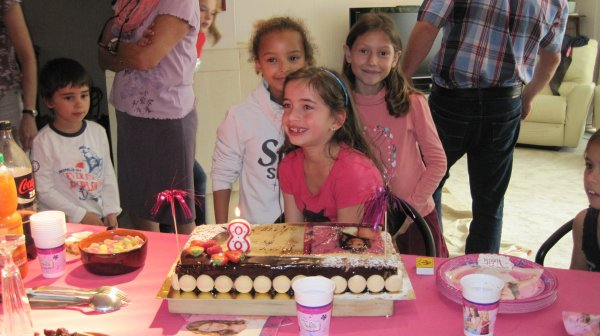 Mary f�te ses 8 ans (suite)