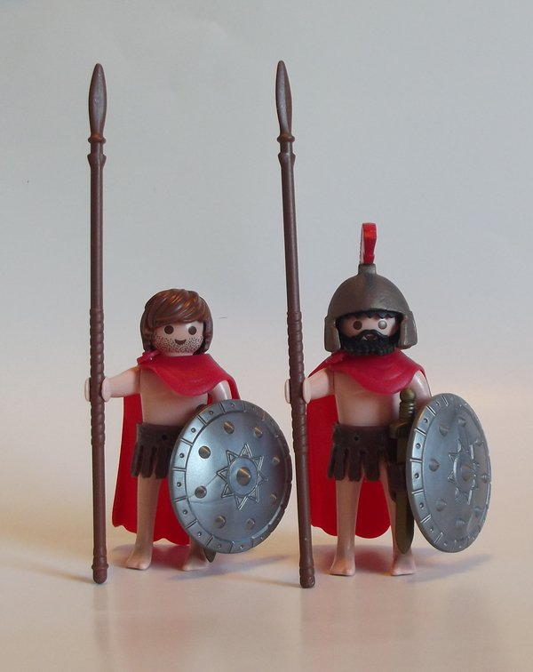 Playmobil customs film 300. (Pas de moi).