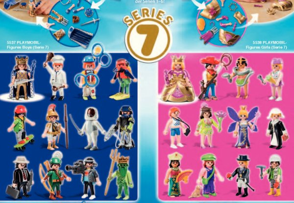 Nouveaut�s 2014 s�rie Playmobil surprise 6 & 7