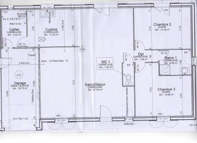 Plan int rieur la construction de notre maison ctvl for Plan interieur maison