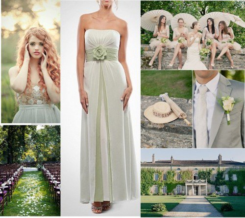 Outdoor wedding fashion rustic country bridesmaid dresses for Wedding dresses for outdoor country wedding