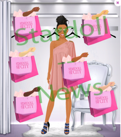 "Sacs de shoppings ""stardoll and the city"""