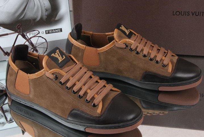 2013 Cheap 1:1 replica Louis Vuitton Casual Shoes for men wholesale