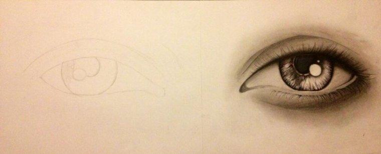 Blog de art drawings le dessin pour s 39 exprimer mon for Le miroir de l ame