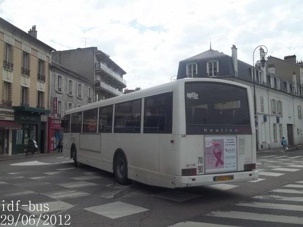 R seau v olia transport conflans bus heuliez gx107 gare de - Piscine maisons laffitte horaires ...