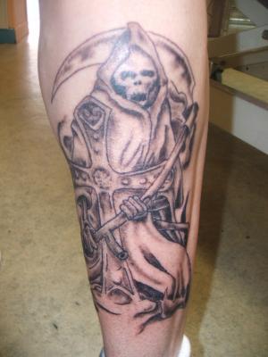 Faucheuse n 2 le tatouage - Tatouage la faucheuse ...