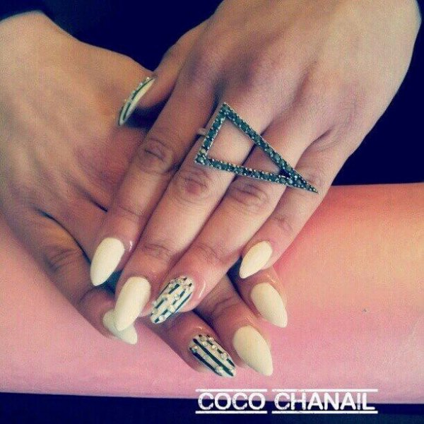 Blanc Déco Nail Art et