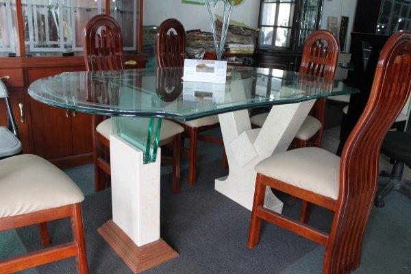 Articles de megaespaciomuebles tagg s mesa de comedor buo for Comedor 4 puestos vidrio