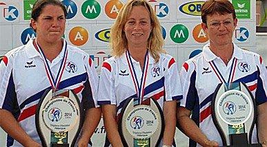 Demi-finales et finale du France Triplette F�minin
