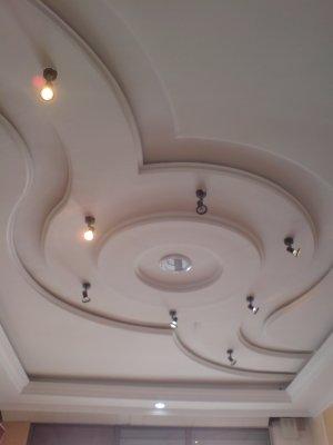 Plafonds de luxe for Modele de faux plafond en platre algerie
