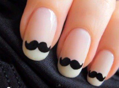 Tutoriel Vernis : Vernis Moustache.