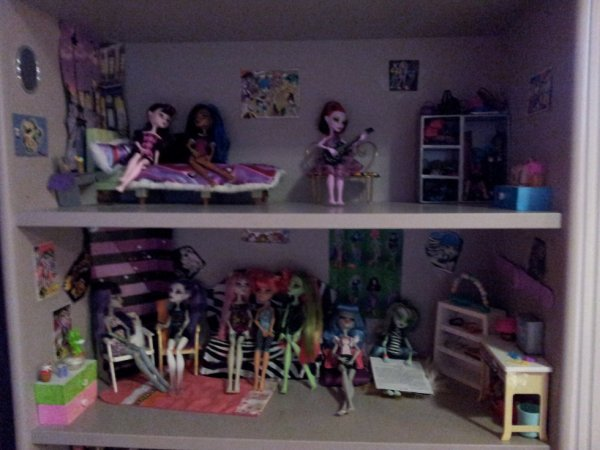 MAISON Monster High !  Monster high collection