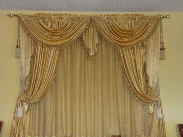 rideaux sur mesure coloris au choix 100 oriental. Black Bedroom Furniture Sets. Home Design Ideas