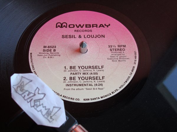 "SESIL & LOUJON ""be yourself"" 12"" ...EXCELLENT!!!!"