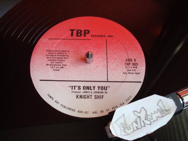"KNIGHT SHIF ""it's only you"" 12"" US...EXCELLENT!"