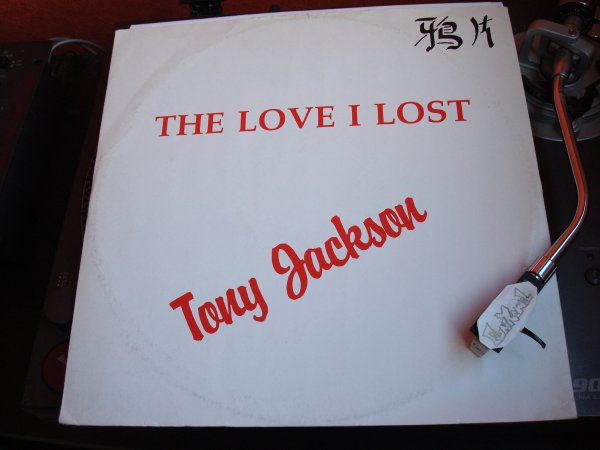 "TONY JACKSON "" secretly in love ""/  "" the love i lost ""  12""...... UN SUPER MORCEAU."