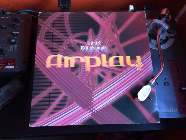 AIRPLAY LIMITED DJ SAMPLER.......UNE BELLE BOMBE!