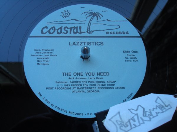 """LAZZTISTICS  """"the one you need""""... 12"""" ....EXCELENT!!!"""