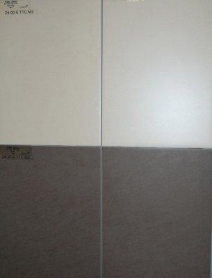 Choix de la fa ence de la salle de bain construction de ma maison en bois - Carrelage deux couleurs ...