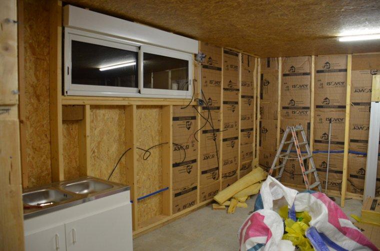 isolation et pose osb construction de ma maison en bois. Black Bedroom Furniture Sets. Home Design Ideas