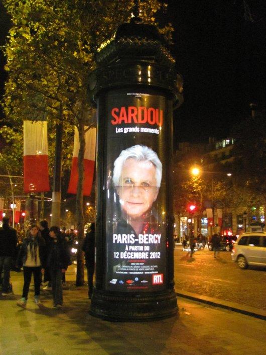 11 novembre 2011 - Michel Sardou investit Paris !