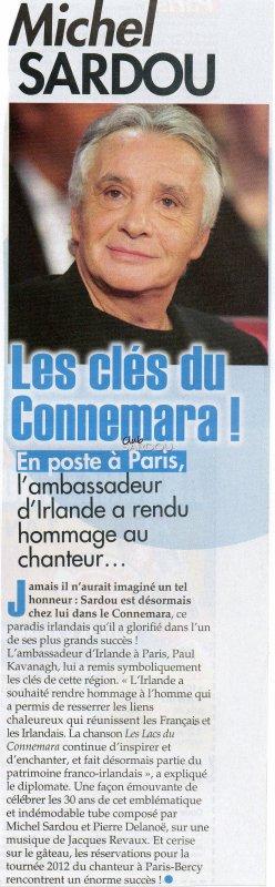 16 novembre 2011 - Article paru dans ICI PARIS