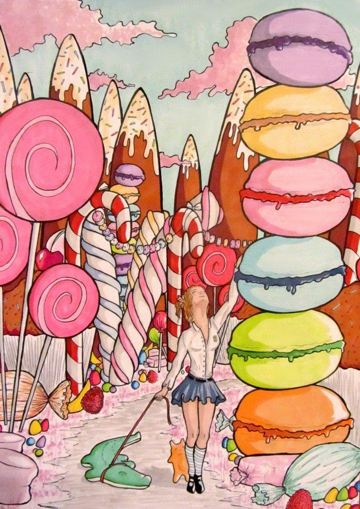 Le pays des bonbons - Bonbon en dessin ...