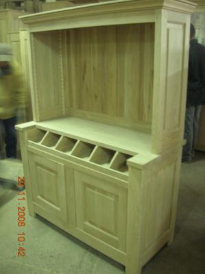meuble de restaurant pour couvert menuisier beniste. Black Bedroom Furniture Sets. Home Design Ideas