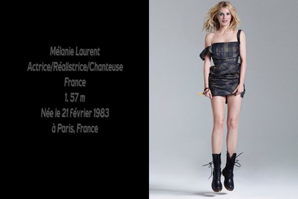 M�lanie Laurent