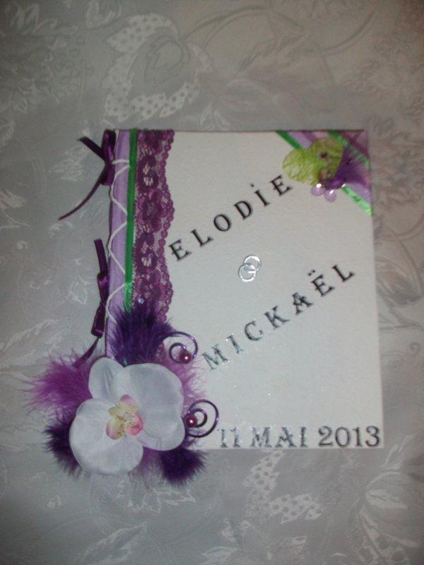 urne mariage blanc violet et vert anis la copie n 39 est. Black Bedroom Furniture Sets. Home Design Ideas