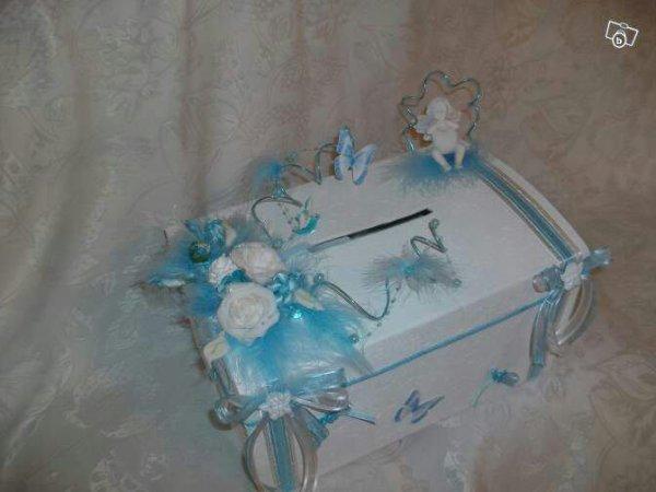 Deco mariage bleu ciel blanc id es et d 39 inspiration sur le mariage - Mariage bleu et blanc ...