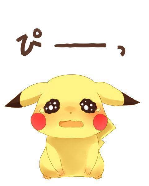 Imagen de pikachu triste - Imagui