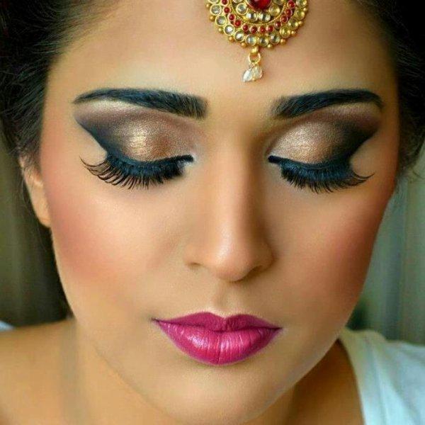 Maquillage Libanais \u003d Makiage Des Yeux Mariage