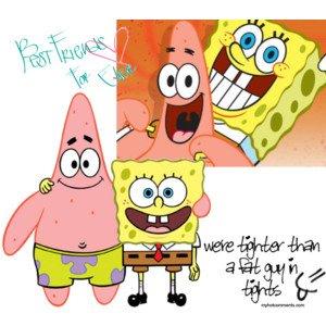 freunde spongebob