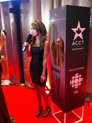 [09.03.2014] Amber �tait presente au Canadian Screen Awards 2014
