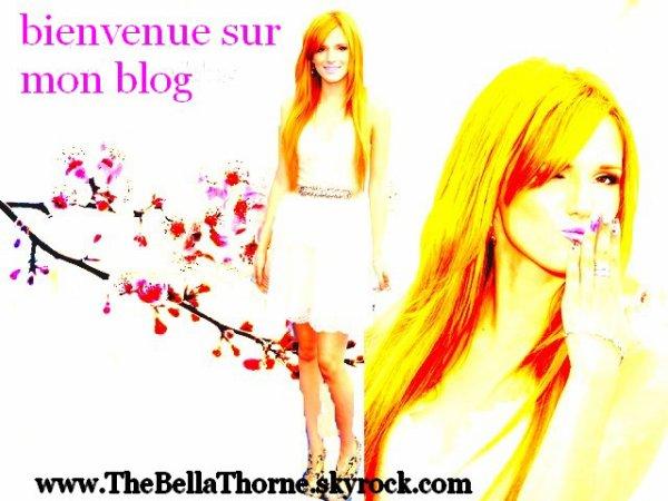 bienvenu(e) sur mon blog TheBellaThorne