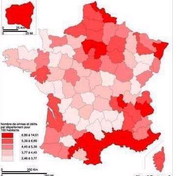 Ville Avec Le Plus Haut Taux De Criminalit Ef Bf Bd France