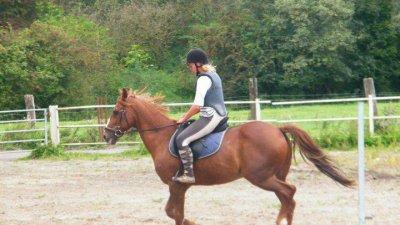 """Monter � cheval transforme le """"je voudrais bien"""" en """"je peux""""."""