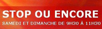 """JEANNE MAS en comp�tition sur RTL pour le  """"STOP ou ENCORE """" du  - Dimanche 03 ao�t 2014 (R�actualisation)"""
