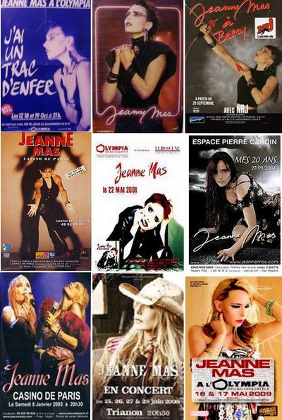 Dans 2 mois et demi...  Nouveau concert parisien de JEANNE  -  Choisissez  vos 3 affiches  de concerts parisiens pr�f�r�es !
