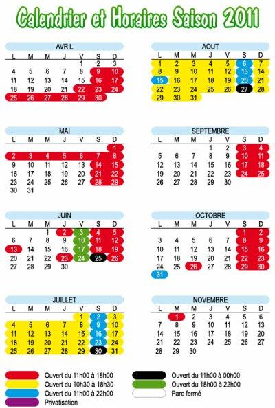 Tarif et horaire du parc en 2010 walygator en lorraine for Tarif horaire auto entrepreneur nettoyage