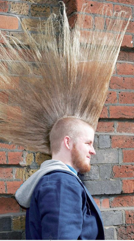 les coiffures punk blog de punk history oi ForCoupe De Cheveux Punk Iroquois