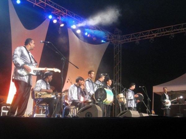 Hamid inerzaf au festival Imintanout 2012