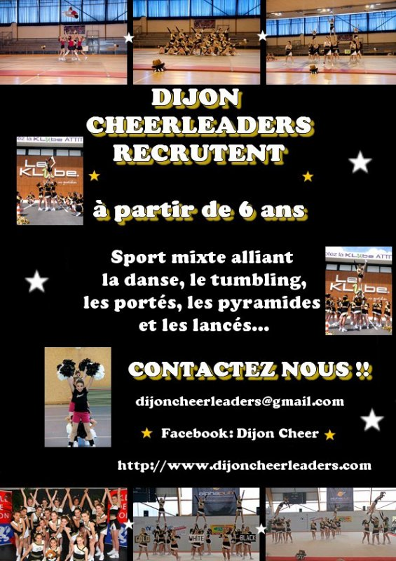 Rentr�e Dijon Cheerleaders saison 2011-2012