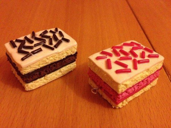 napolitain choco et fraise pate fimo blog de targueritte creation. Black Bedroom Furniture Sets. Home Design Ideas